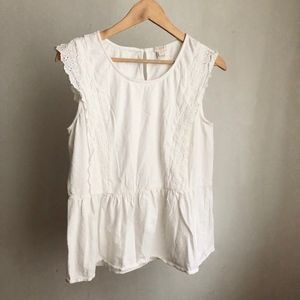 J. Crew blouse cotton size:Small casual comfy